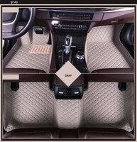 Custom car floor mat 7 seats for kia carnival Carens vq Buick Enclave envison Volkswagen Multivan Caravelle Sharon accessories
