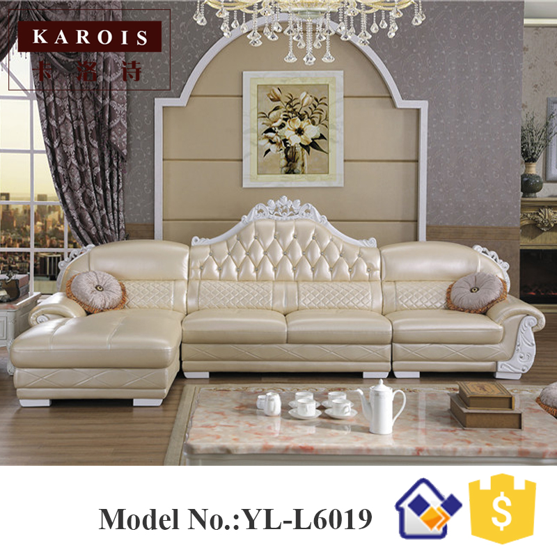 Wholesale Price Leather Corner sofa with chaise L Shaped Sofa,leather furniture,white leather sofas kindergarten school furniture school furniture price list kids wholesale price with free shipment 50 chairs to vietnam
