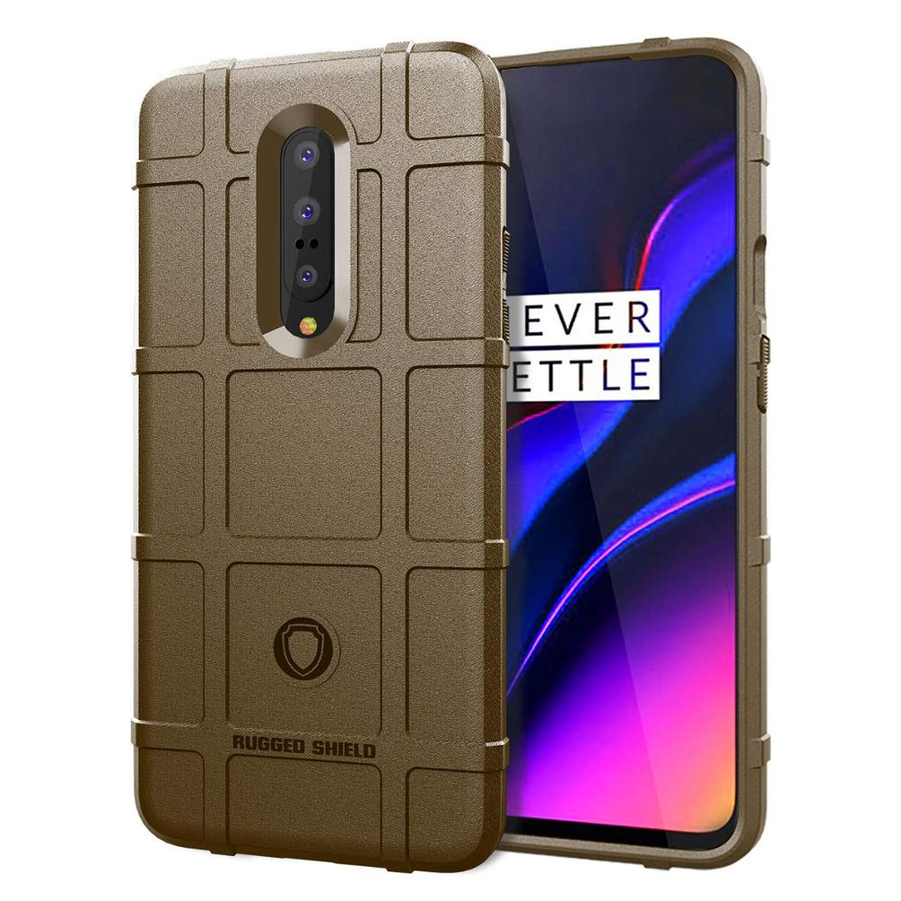 Image 5 - Conelz For Oneplus 7 Pro Case TPU Case Cover Shockproof Amor Case Rugged Shiled Case for Oneplus 7 6T-in Half-wrapped Cases from Cellphones & Telecommunications