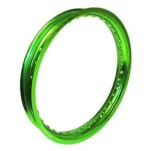 ФОТО Pro Wheel Front Rim 1.40x14 Aluminum Green Kawasak KLX 1.40 x 14