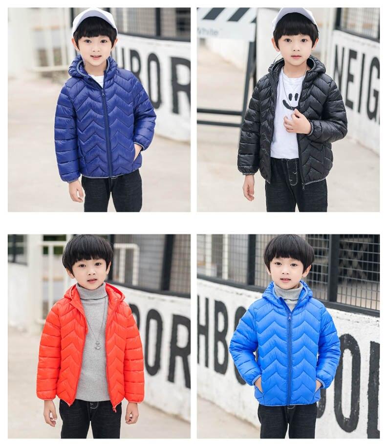640da9f2a 4 10Years Winter Kids Clothes Boyd Down Coats Hooded 2018 Children ...