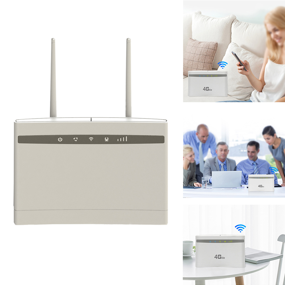 School Stable High Speed Computer Network Accessories Office Home Easy Use Universal 3g 4g 300Mbps WIFI Sharing Wireless Router
