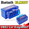 Bluetooth ELM327 Interface Code Readers ELM 327 V2.1 Smart Car Vehicle Diagnostic Scanner Tool ODB2/OBDII Protocols Android