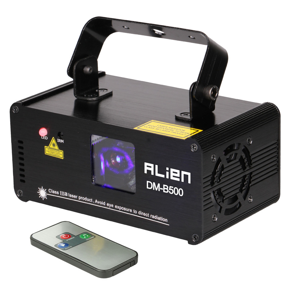 US $118 99 |500mw Blue Beam Laser Show Single Lens Pro Laser Scanner Sound  Active DMX 512 Programmable Disco Lighting-in Stage Lighting Effect from