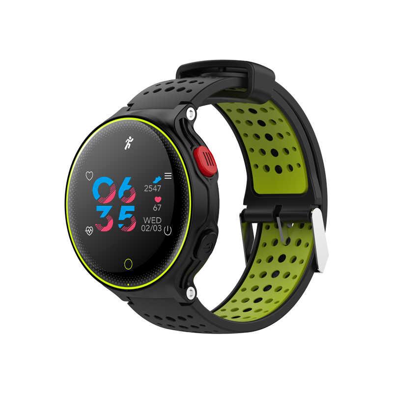 X2 Смарт-часы IP68 Водонепроницаемый 4,0 Bluetooth 1,04 дюймов устройство слежения за кровяным давлением устройство для отслеживания сердцебиения во время сна монитор для IOS и Android PK Q8 K5
