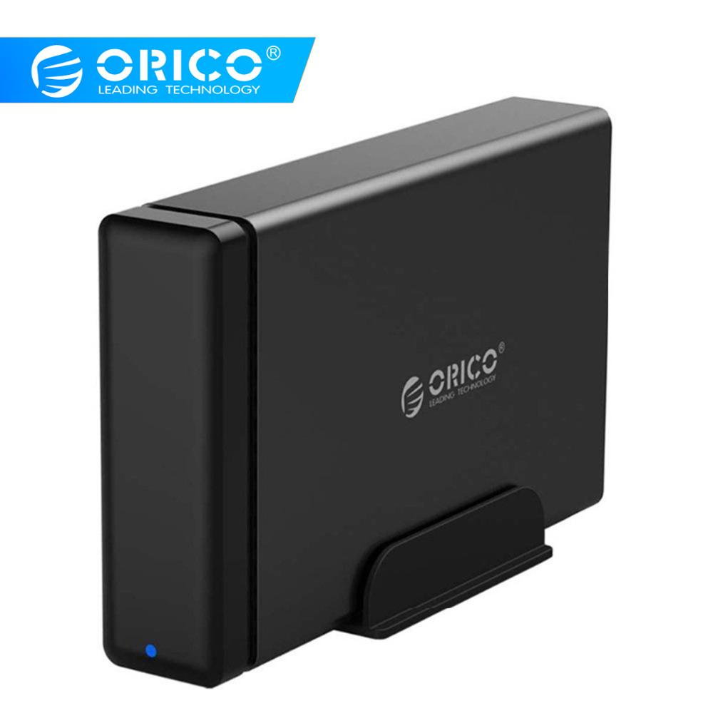 ORICO Aluminum HDD Dock Enclosure USB3 0 to SATA3 0 Hard Drive Box Support UASP 12V