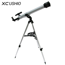 Wholesale 1 Set Quality F60700 Refractive 525 X Zoom Astronomical Telescope (700/60mm) Monocular Telescope for Astronomical Observation