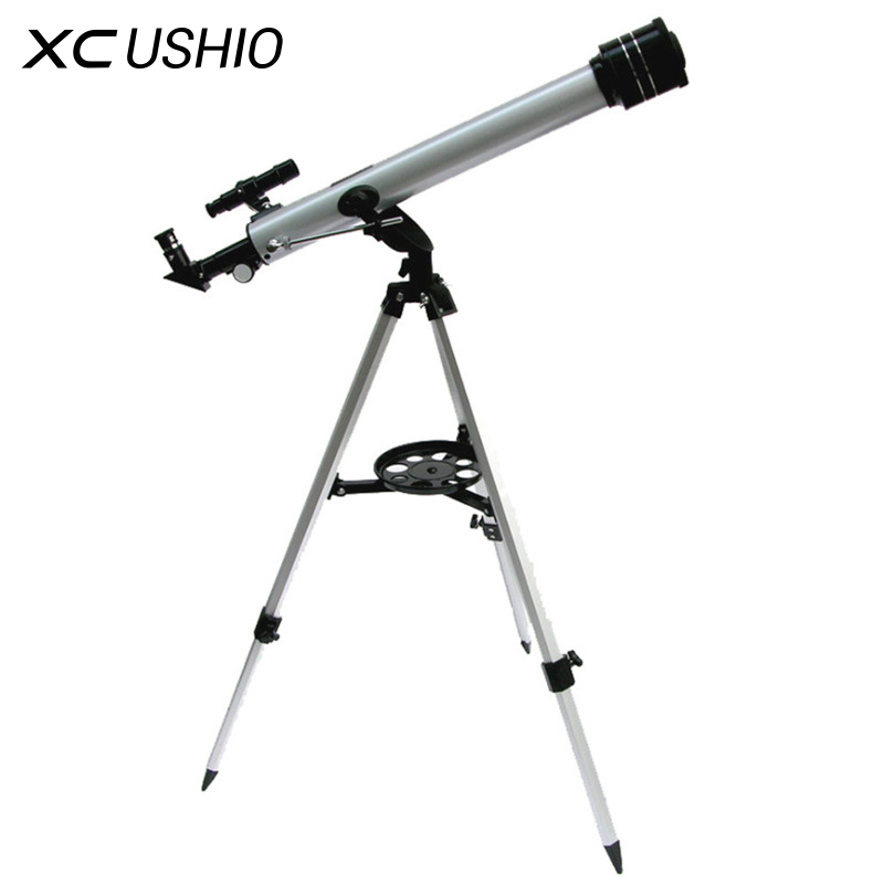1 Set Quality F60700 Refractive 525 X Zoom Astronomical Telescope 700 60mm Monocular Telescope For Astronomical