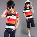 New 2016 kids clothes BIG BRAND boy clothing sets casual children clothing set sports suit for a  boys clothes