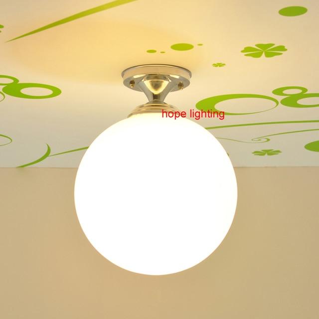 Us 62 0 Led Deckenleuchten Badezimmer Beleuchtung China Deckenleuchten Decke Montiert Lampe Globus Glas Schatten Schlafzimmer Lampen Kuchenhaus