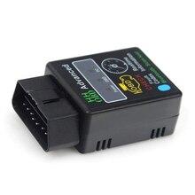 цена на DJSona ELM327 Bluetooth Car OBD2 Scanner Android Torque Auto Diagnostic Tool OBD II auto scanner tools Hot Sale