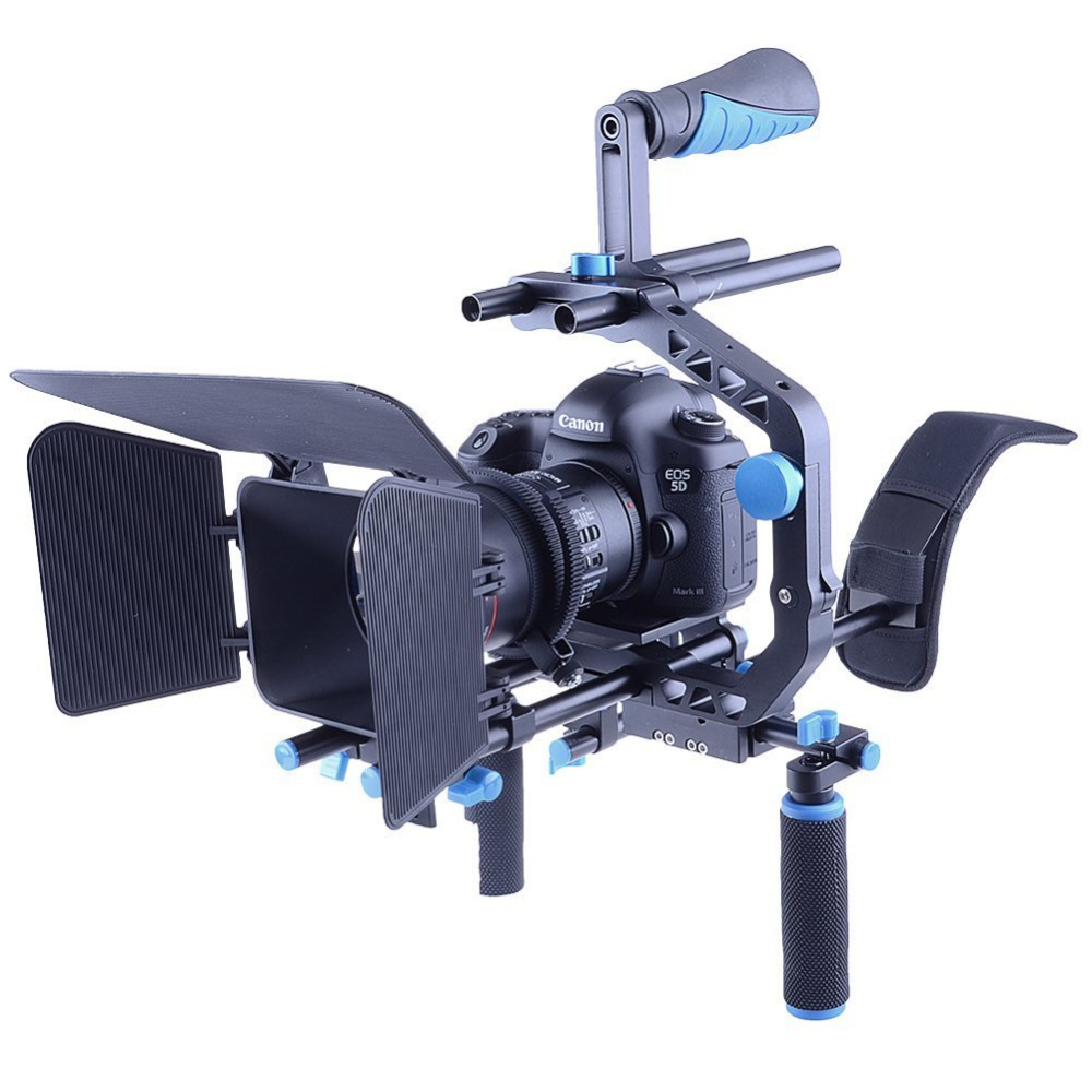 Shoulder Mount Kit Camera Shoulder Stabilizer Camera Rig Set Movie Filming Equipment for SLR Camera DV Camcorder new professional dslr rig shoulder mount rig filming photography accessories for canon sony nikon slr video camera dv camcorder
