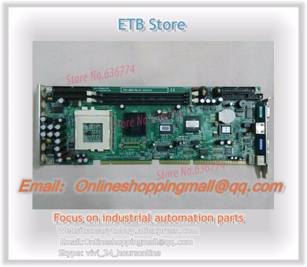 pca-6003 a1 industrial motherboard pca-6003v CPU Card  цены