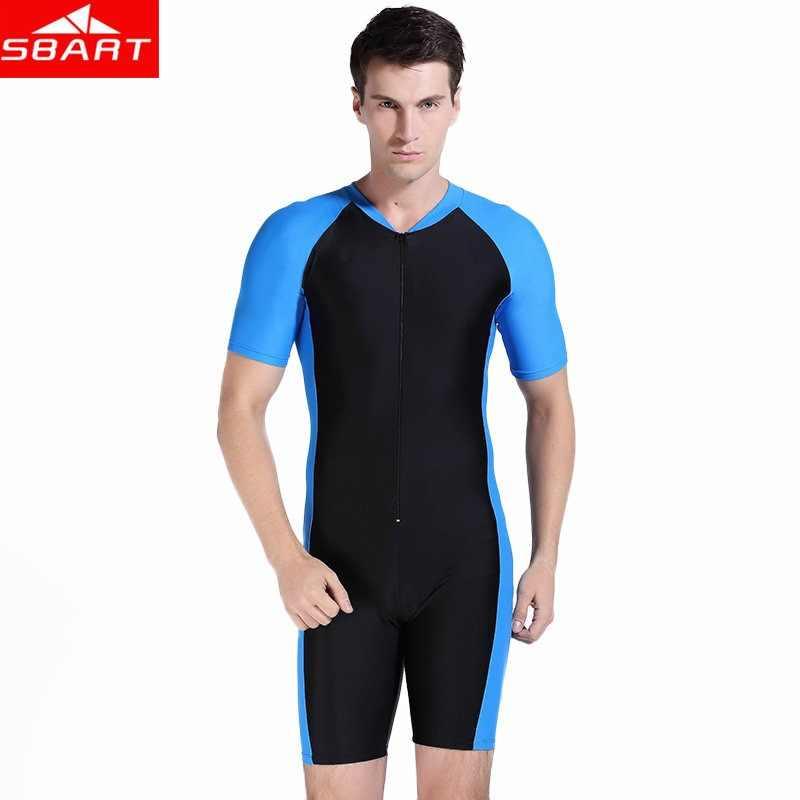 3d6d6e8814 SBART Anti-UV Lycra Short Sleeve Triathlon Wetsuit Men Women Surfing Wet  Suit for Swimming