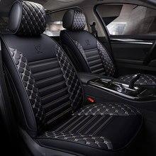 leather car seat cover universal auto seat protector mat for lada 2107 2110 2114 granta kalina 1 2 largus priora vesta xray 2106 цена 2017