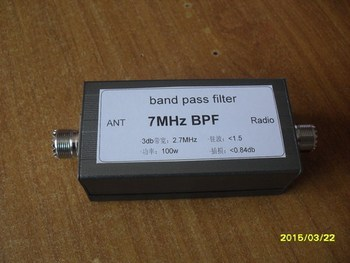Gratis Pengiriman Shoot-Plus 7.050 Gelombang Pendek Bandpass Filter Shoot 7MHz Isolasi Tinggi Ras Band Pass Filter Narrow Band