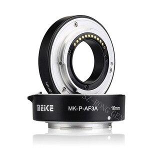 Image 2 - Meike Anillo de tubo de extensión de enfoque automático Macro MK P AF3A AF para cámaras Panasonic Olympus sin espejo