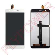 For Jiayu S3 LCD Display Screen with Digitizer touch Screen Assembly White by Free shipping; 100% Warranty