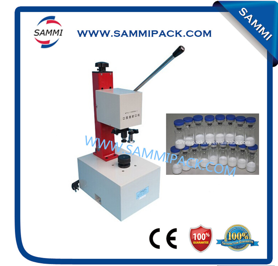 Stainless steel Table and protective cover KFJ-1035A Oral liquid capperStainless steel Table and protective cover KFJ-1035A Oral liquid capper