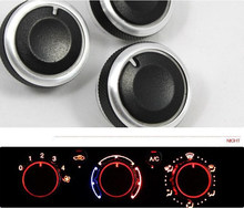 air conditioner knobs promotion shop for promotional air conditioneraluminum alloy car air conditioning conditioner knob control button for volkswagen vw jetta new 2010 2012