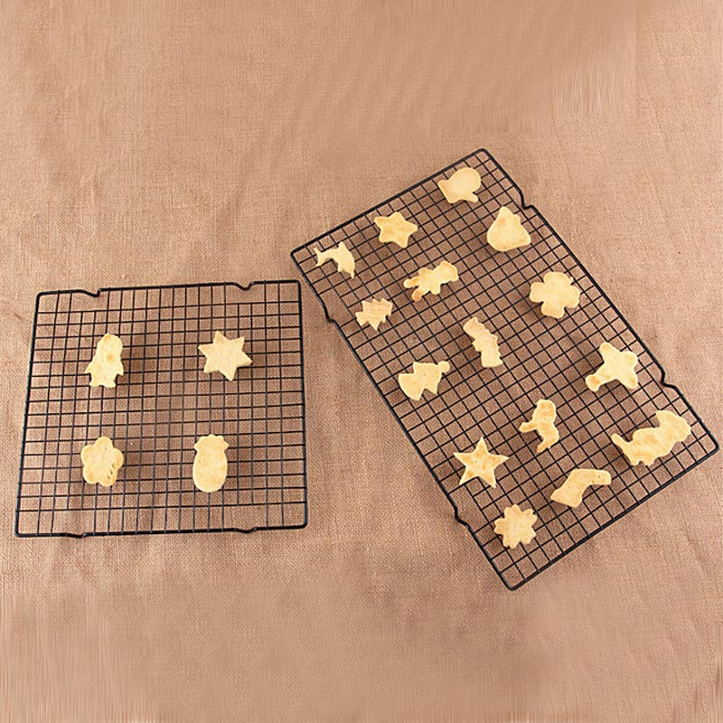 Non-stick Cooling Rack Baking Tools Bread Cooler Rack Grid Baking Tray For Biscuit/Cookie/Pie/Bread/Cake Baking Rack supplies DA