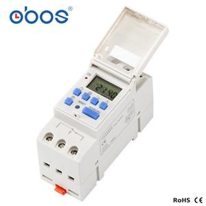 Image 4 - Commutateur de temps Programmable astronomique BS26W AC220V commutateur de minuterie numérique Programmable 16A tension sélectionnable AC110V DC12V DC24V