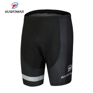 Image 1 - KUWOMAX מכירה לוהטת יוניסקס שחור אופניים נוחים תחתונים ספוג ג ל 3D מרופד אופני קצר רכיבה מכנסיים.