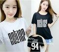 NCT 127 novo álbum fogo caminhão Wentai MARCA Li Tairong com os homens e as mulheres devem usar T-shirt de manga curta de Verão algodão