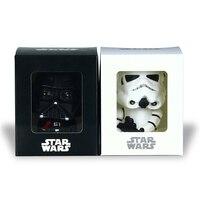 Star Wars Bobblehead 10 cm Darth Vader Stormtrooper Bobblehead Puppen Auto Dekoration Action-figur PVC Spielzeug Modell Geschenk für Kinder