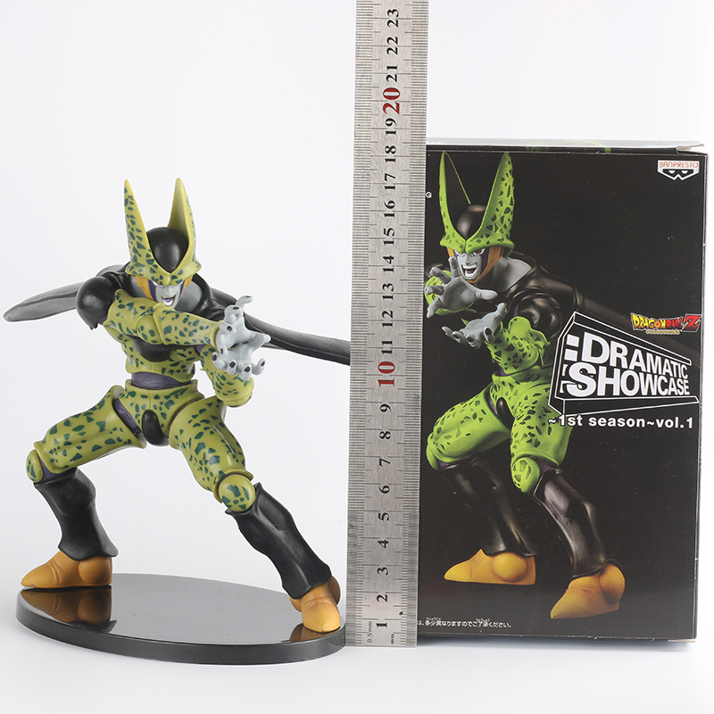 ФОТО Wolves World Dragon Ball Action Figure Cell Third Form Japan Hot Toys PVC 18CM Kids Toys Cosplay Figure Anime SYP-0038