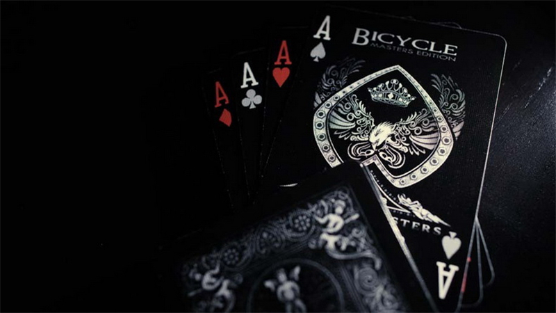 Shadow-Masters-Original-Bicycle-Shadow-Playing-Card-magic-trick-Black-Deck-By-Ellusionist-Creative-Poker-Magic-Props-81215-5