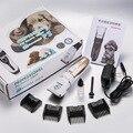 Profesional Pet Cat Dog Hair Trimmer Grooming Máquina de Afeitar Eléctrica de Cortar El Pelo de Animales Máquina de Corte Ajustado 110-240 V