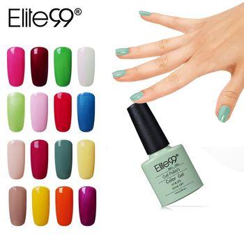 Elite99 Lange Anhaltende Farbe UV Gel für Nagellack Tränken weg vom UV Nail Primer Kunst Gel Lack Lack Polish Top basis Mantel 7,3 ml