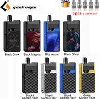 Newest E Cigarette Kit GeekVape Frenzy Kit Pod System with 2ml Cartridge 950mA Vape pod & AS Micro Chipset E Cigarette Vape