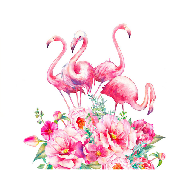 Diamond embroidery flamingo diamond paintings 5d diy home decor wall sticker diamant painting diamond painting bird