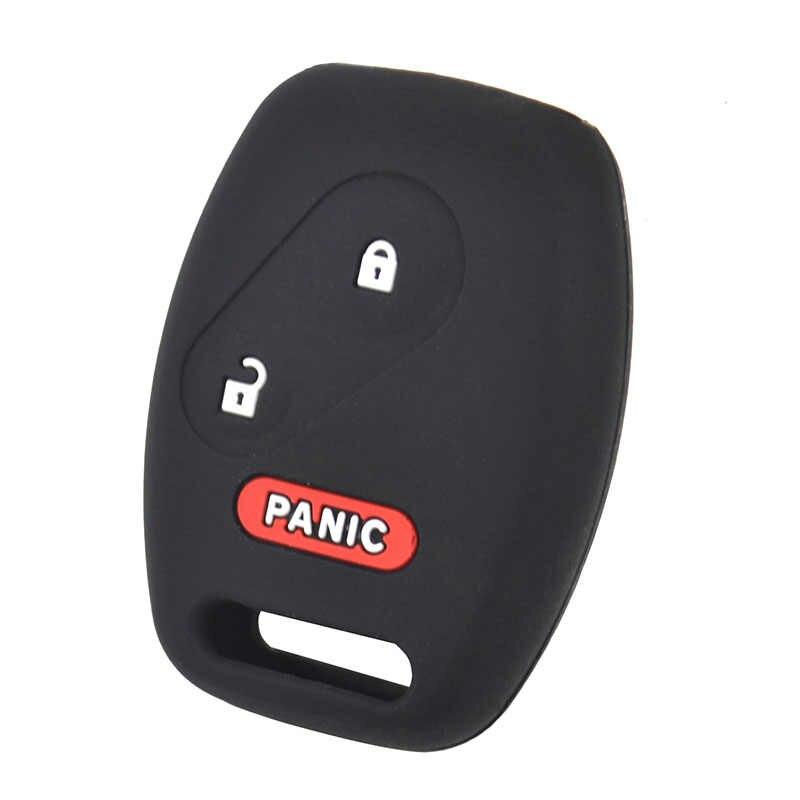 Силиконовый чехол для ключей от машины для Honda Accord Crosstour Civic Odyssey CRV CRZ Insight Пилот крышки Keyless дистанционного Fob защитная оболочка