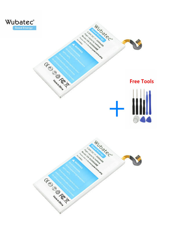 Wubatec Replacement-Battery Samsung G950F Galaxy 2x3000mah For S8 G950/G950f/G950a/..