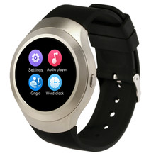 Round Bluetooth 4.0 Smart Watch Support SIM TF Card Intelligent Watch Sport Fitness Smart Wristwatches Phone For Andriod And IOS