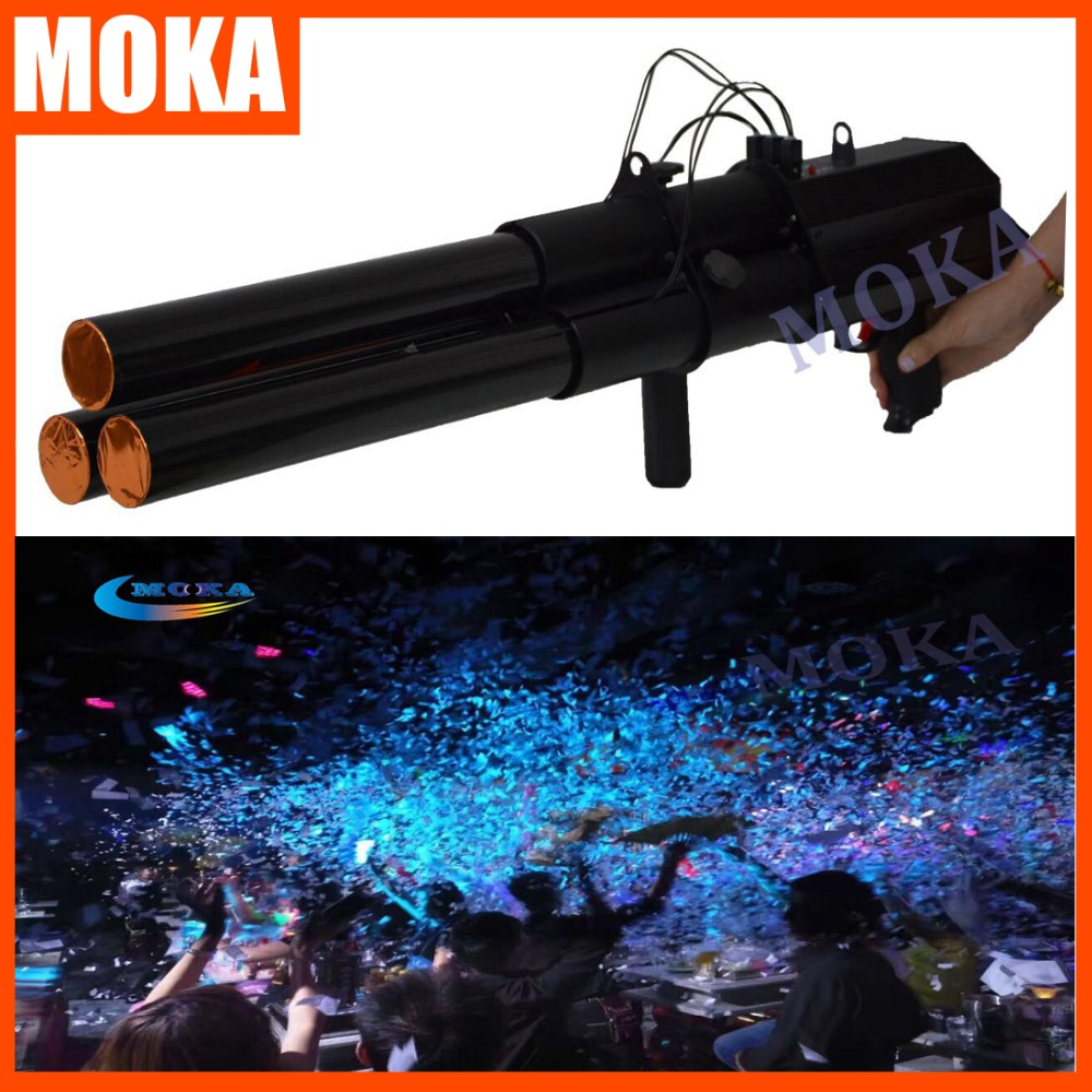 Party Confetti Launcher Cannon machine ,Confetti Cannon ,electric confetti gun machine все цены