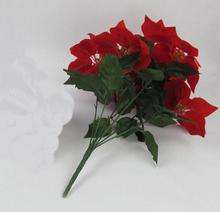Artificial flowers artificial wedding simulation plant of high-end European-style retro color Hibiscus Rose
