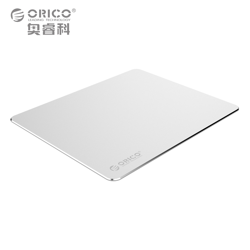 ORICO Aluminum Mouse Pad with 1.5mm Aluminum&0.5mm Rubber for Home,Office,Business,etc (AMP2218)
