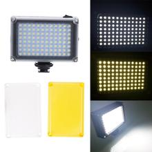 מקצועי 5500 K הבזק אור מצלמה צילום דיגיטלי Luminaire 96-נוריות LED תוסף פלאש צילום סטודיו אבזרים