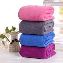 Big Microfiber Absorbent Bath Towels Drying Washcloth Beauty Salon Home Textile Serviette De Plage toalla playa Summer Towel цены