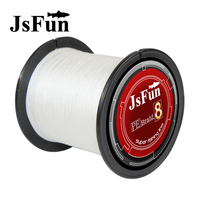 JSFUN Multifilament Fishing Line 1000m Braid Fishing 8 Braid Fishing Lines 1 8 22 31 39