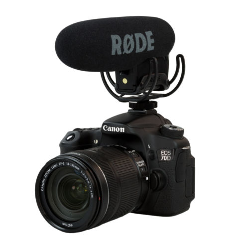 VideoMic pro avec Rycote Lyre Shockmount Microphone gun Shot Mic pour canon 5D2 5D3 6d 7D nikon d800 d600 caméra