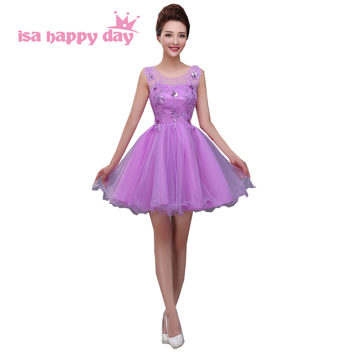 aac4b6f73d short tulle sexy junior plus size womans prom shorts dresses under 100  special occasion girl faironly lavender dress W3261