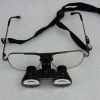 2.5X Dental Loupe Medical Surgical Loupes Binocular Galileo Magnifying Glasses Optical Magnifier Glasses CE Approved With Box