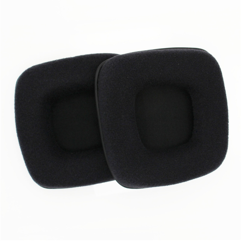 New Replacement Ear Pads Velour Fabric Sponge Cushion Earpads For Razer Banshee Headphone Game Headset Soft Headphones Yw in Earphone Accessories from Consumer Electronics