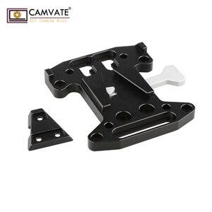 Image 1 - CAMVATE Camera QR Assembly Kit V Lock Quick Release Plate For DSLR/Blackmagic URSA Mini/ DJI Ronin M/MX V Mount Battery Mounting