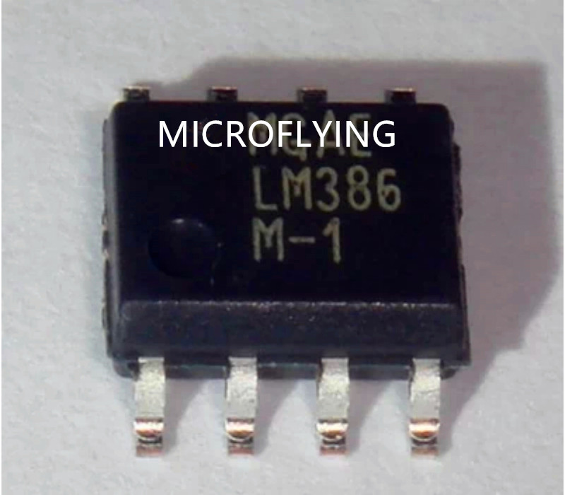 US $3 8 |100PCS LM386M 1 LM386M LM386 M 1 SOP8 Audio amplifier IC-in  Replacement Parts & Accessories from Consumer Electronics on Aliexpress com  |